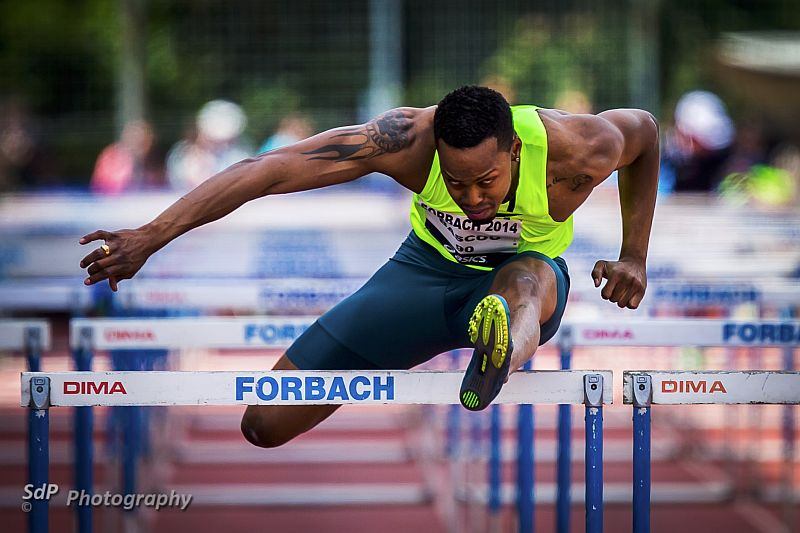 Dimitri Bascou au Meeting international de Forbach 2014